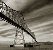 Astoria-Megler Bridge Royalty Free Stock Images