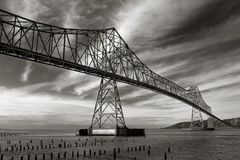 Astoria-Megler Bridge Royalty Free Stock Photos