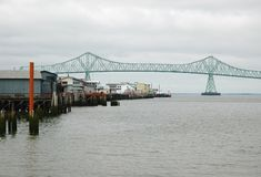 Astoria-Megler Bridge Stock Image