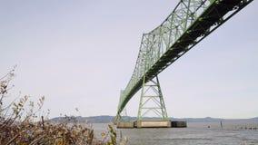 Astoria-Megler Bridge, Oregon stock footage