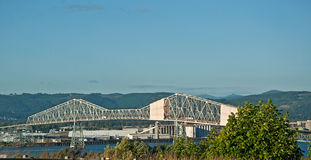 Astoria Megler Bridge over the Columbia River Royalty Free Stock Photos