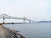 Astoria-Megler Bridge, a steel cantilever through truss bridge between Astoria, Oregon and Washington Stock Images