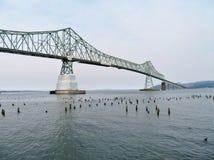 Astoria-Megler Bridge, a steel cantilever through truss bridge between Astoria, Oregon and Washington Stock Photography
