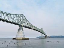 Astoria-Megler Bridge, a steel cantilever through truss bridge between Astoria, Oregon and Washington Stock Photo