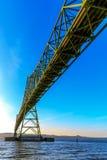 Astoria-Megler bro Fotografering för Bildbyråer