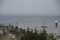 Astoria Megler bro Oregon Arkivbilder