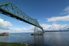 Astoria ODER Megler Brücke Stockfotografie
