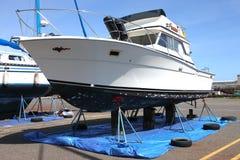 astoria łodzi remontowy jard Obrazy Royalty Free