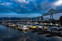 astoria Oregon Obraz Stock