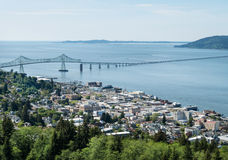 Astoria, Oregon stock afbeelding