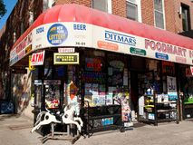 Ditmars Foodmart in Queens Royalty Free Stock Photography