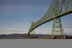 Astoria's Steel Bridge Royalty Free Stock Photo