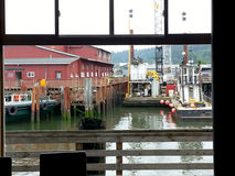 Astoria Working Dock Royalty Free Stock Photography