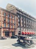 Astoriahotel - de historische bouw royalty-vrije stock foto