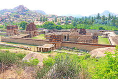 Astounding and huge Hampi  UNESCO World Heritage Site Karnataka Royalty Free Stock Image