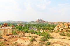 Astounding and huge Hampi  UNESCO World Heritage Site Karnataka Royalty Free Stock Image