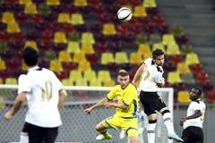 Astra Giurgiu- Omonia Nicosia Stock Photo