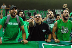 Astra Giurgiu-Omonia Nicosia, UEFA Europa League Royalty Free Stock Photo