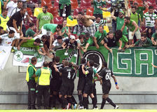 Astra Giurgiu-Omonia Nicosia, UEFA Europa League Royalty Free Stock Photography