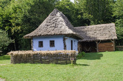 Astra Museum nacional em Sibiu - casa velha Imagens de Stock