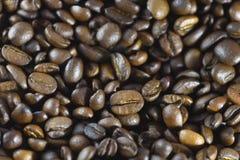 Astract Hintergrund Gebratener Kaffeebohnehintergrund lizenzfreie stockfotografie