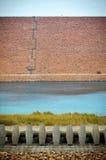 Astractmening van Reservoirs Royalty-vrije Stock Afbeelding
