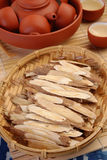 Astragalus root Stock Images