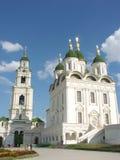 Astrakan het Kremlin, Astrakan, Rusland Stock Foto's