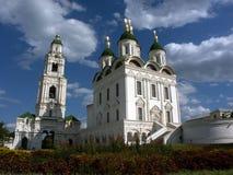 Astrakan het Kremlin, Astrakan, Rusland Royalty-vrije Stock Foto