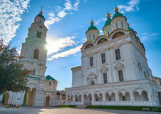 Astrakhan. Cathedral of the Assumption of the Blessed Virgin Mary Royalty Free Stock Photos