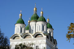 Astrakhan cathedral Royalty Free Stock Images