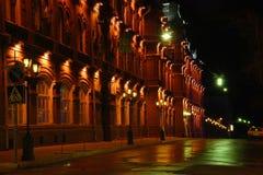 astrakhan gata Royaltyfri Bild