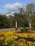 Astrakhan kremlin Stock Images