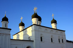 Astrakhan Kremlin in Russia Royalty Free Stock Photos
