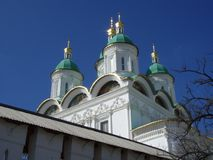 Astrakhan Kremlin.Astrakhan.Russia royalty free stock photography