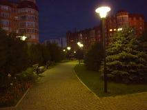 Astrakhan at night Stock Image