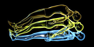 Astral Projection Stock Photos