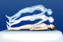 Astral Projection Stock Image