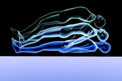Astral Projection. 3d rendered Illustration. Astral Projection Royalty Free Stock Image