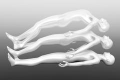 Astral Projection. 3d rendered Illustration. Astral Projection vector illustration