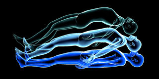 Free Astral Projection Royalty Free Stock Photo - 40018435