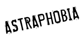 Astraphobia rubber stamp Royalty Free Stock Photos