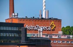 AstraZeneca - usine Photos libres de droits