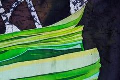 Astrazione, batik caldo, struttura del fondo, fatta a mano su seta royalty illustrazione gratis