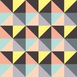 Astrazione composta di triangoli differenti E illustrazione di stock