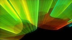 Astrazione con i colori luminosi, fondo generato da computer di manifestazione del laser della rappresentazione 3d royalty illustrazione gratis