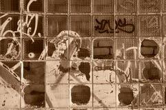 Astrazione dei mattoni Fotografie Stock Libere da Diritti