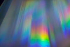 Astrazione del CD di riflessioni immagini stock