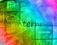 Astrazione del computer Fotografia Stock