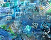 Astrazione del computer Immagine Stock Libera da Diritti